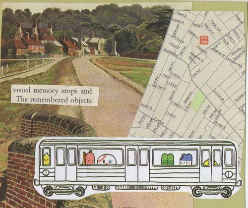 Map train by erin heath