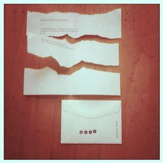 letter from benjamin
